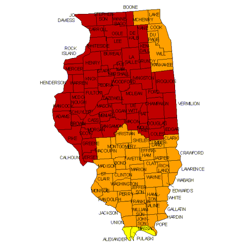 View an interactive radon map here .