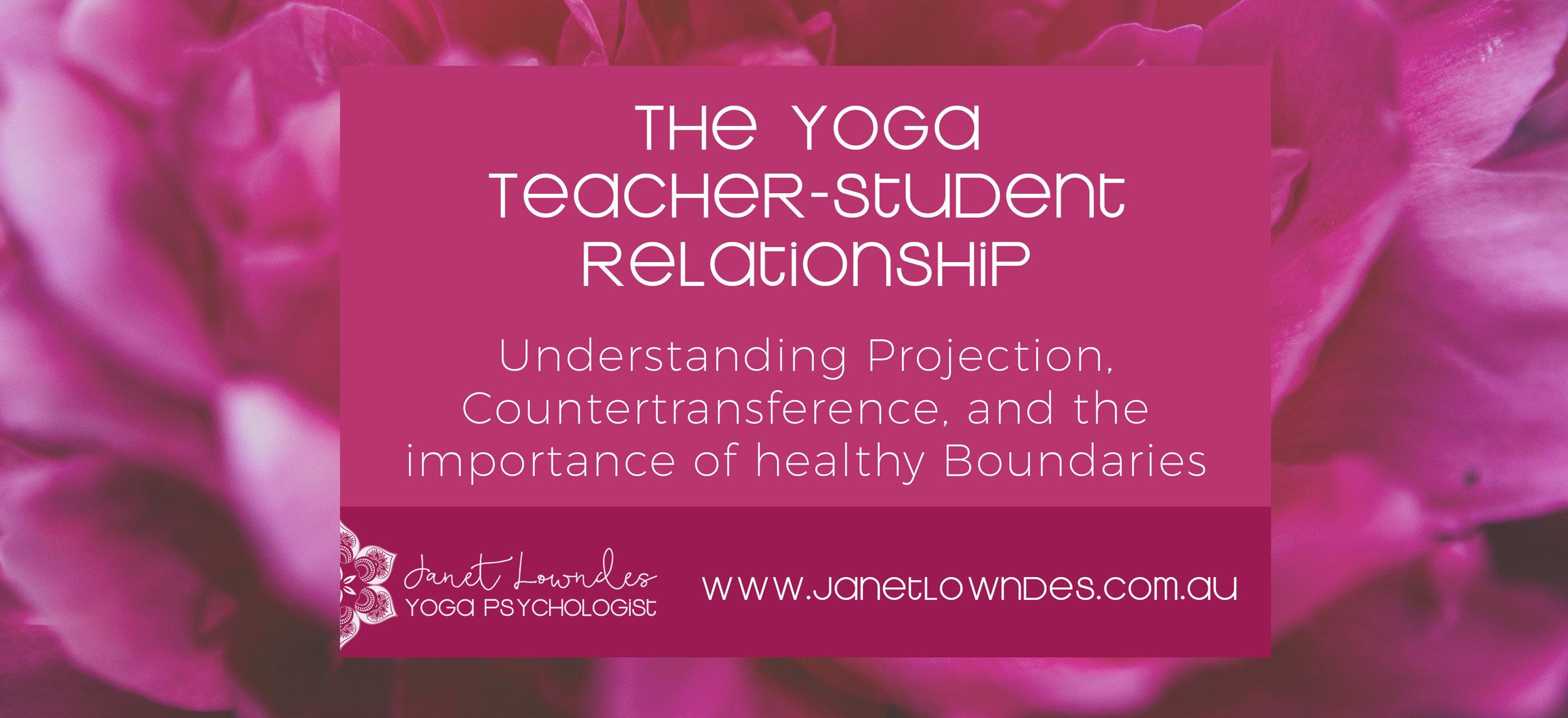 Yoga Teacher Webinar