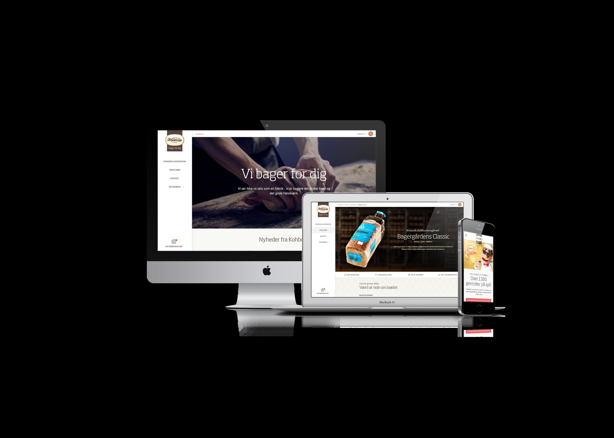 Kohberg understøtter både deres egne og deres kunders behov, på tværs af segmenter og afdelinger, med deres nye webplatform.