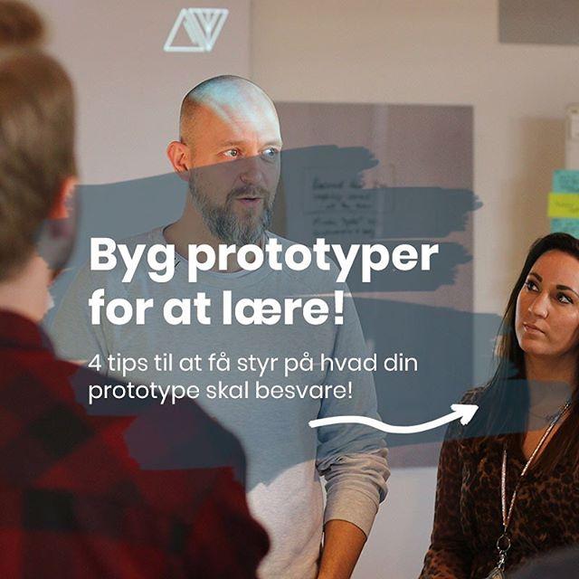 Vi elsker prototyper! Ikke som et mål i sig selv, men et middel til at lære om vi er på rette vej. Her er et par tips til, hvad en en prototype kan give svar på. 🕺💧☘️ #dansellerdø #regndans #prototyping #designthinking #prototype #design #learn