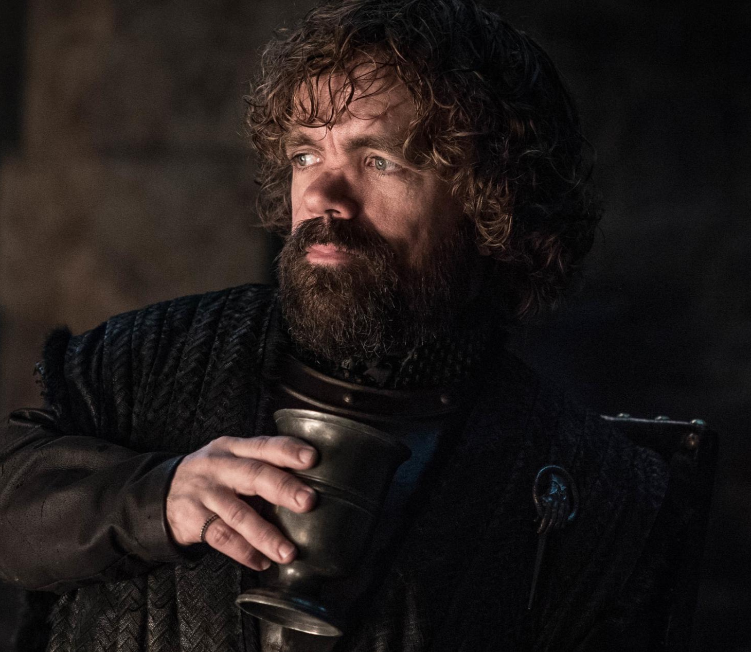 Peter Dinklage as Tyrion during Season 8's most action-packed scene so far