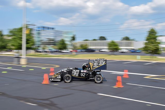 With only one competition remaining for UTR-25 in October, we are focusing all our efforts on training new drivers and testing new set-ups in preparation for UTR-26! • • Special Thanks to our sponsors! @generalmotors @zf_group @lincolnelectric @hinsonracing @dewittsradiator @thyssenkrupp @puretuning @kennametal @motorstatedistributing @hmsmotorsports @slicustom  @profox.racing • • #formulasae #fsae #fsaeparts #formulastudent #racecar #racecars #engineering #engineer #studentbuilt #toledoohio #ohio #universityoftoledo  #ut #photography #blackandwhite #nikon #nikonphotography #photo #photooftheday #car #race #camber #suspension #aero #aerodynamics #competition #motorsports #motor #ktm