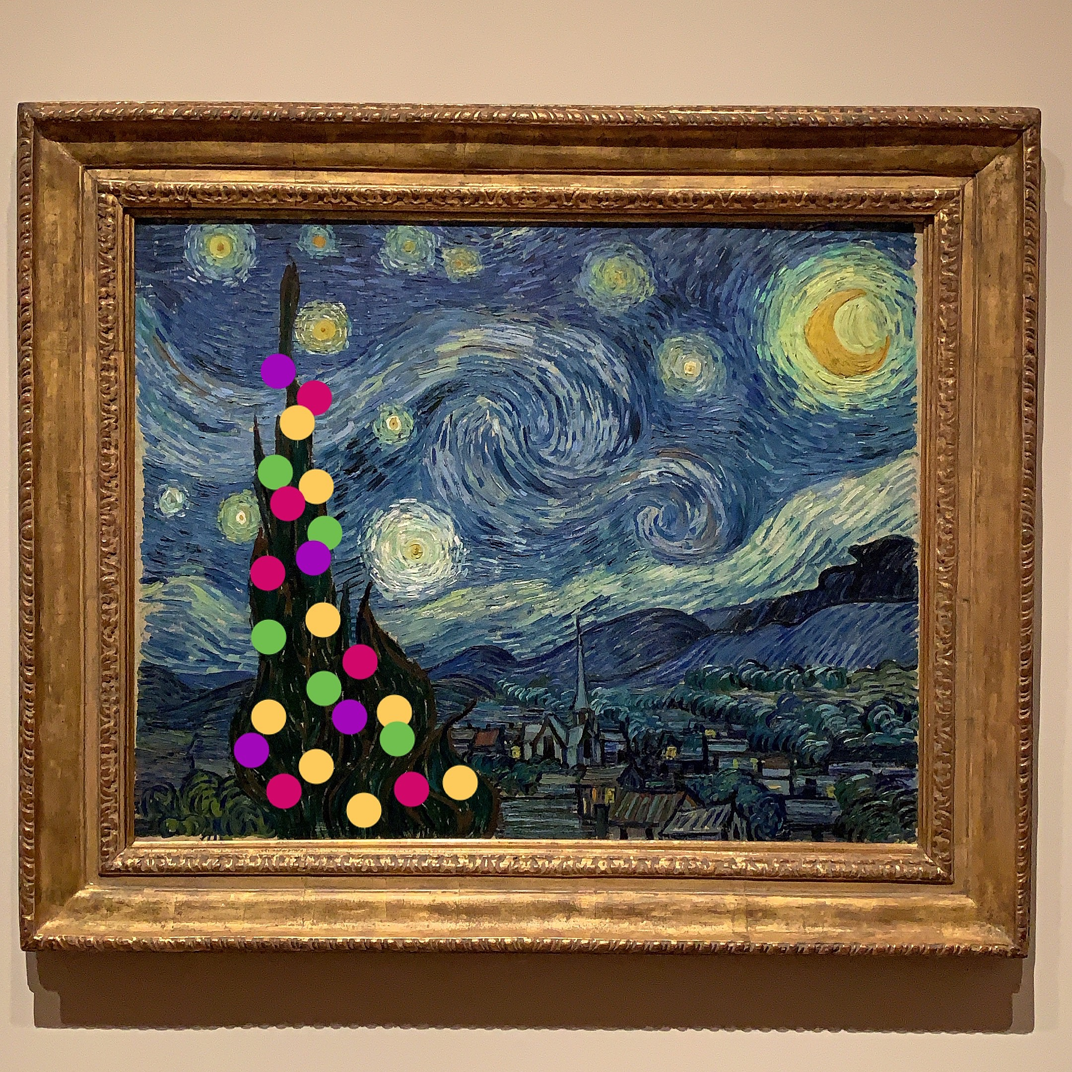 christmas at MoMA
