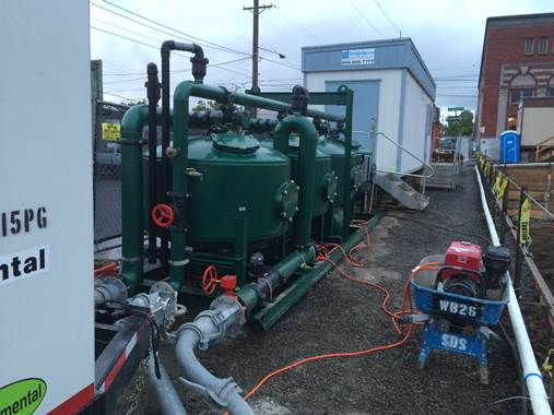 We offer design, installation, and monitoring of soil and groundwater treatment systems.