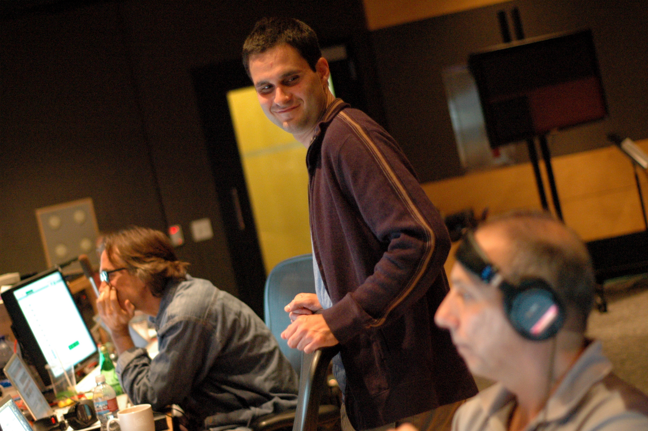 Noah Snyder at Wolfman Scoring Session (2009)