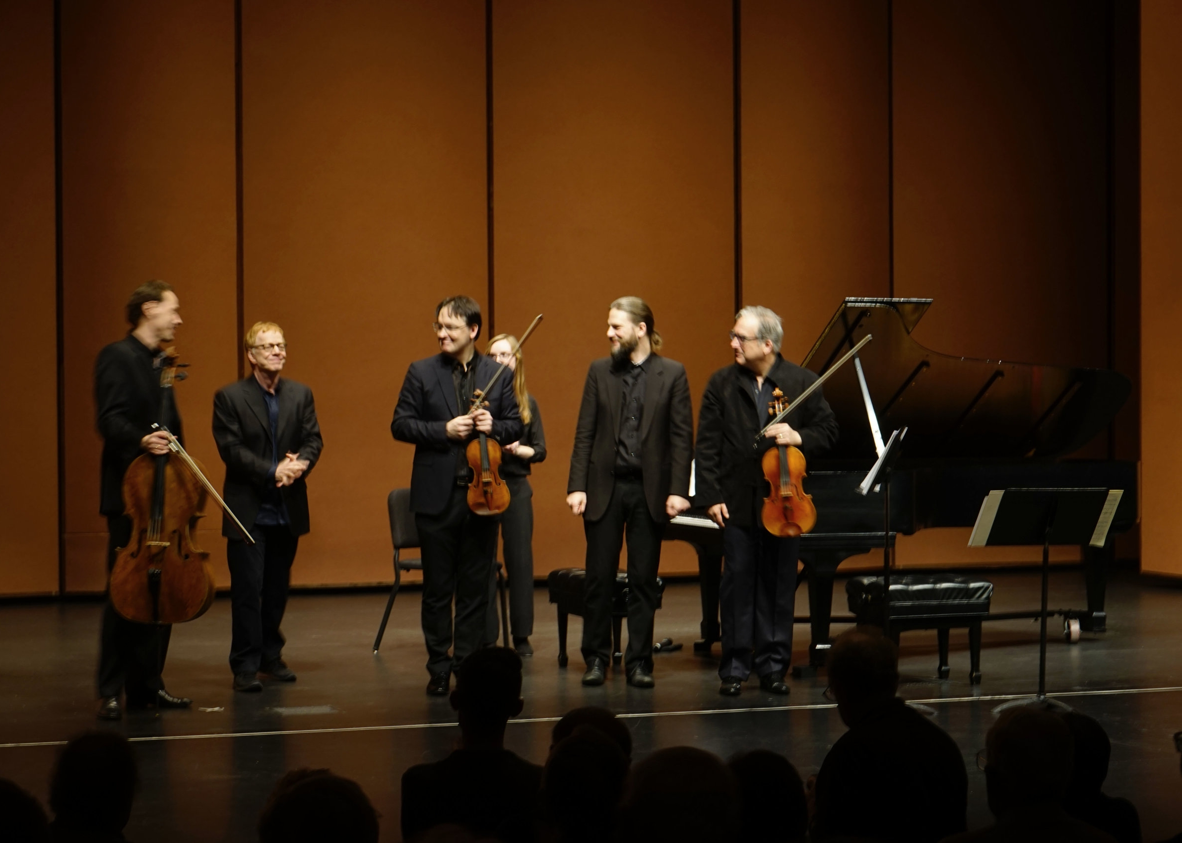 PIANO QUARTET - Co-commissioned by the Lied Center of Performing Arts University of Nebraska in Lincoln and The Philharmonic Piano Quartet Berlin. On February 6, 2018, the Philharmonic Piano Quartet Berlin commenced their US World Premiere tour of Elfman's new work.