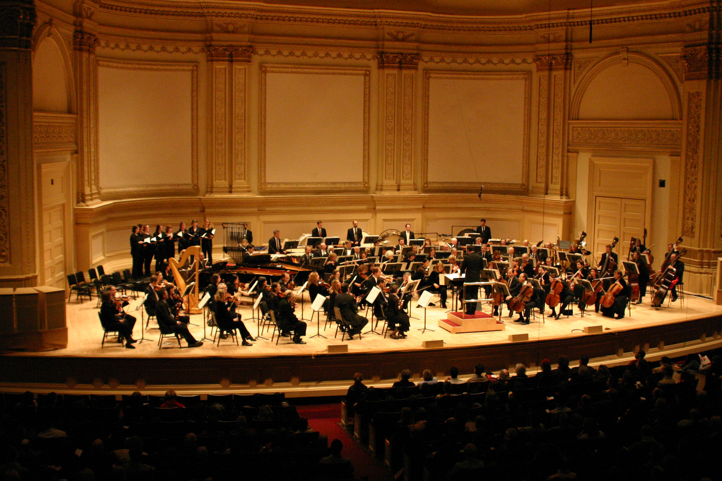 SERENADA SCHIZOPHRANA - Serenada Schizophrana premiered at Carnegie Hall, NYC and was commissioned and performed by the American Composers Orchestra on February 23rd 2005, Conducted by Stephen Sloane. It was later re-recorded and released by Sony Classical on Oct. 3rd 2006, with John Mauceri Conducting the Hollywood Studio Symphony.