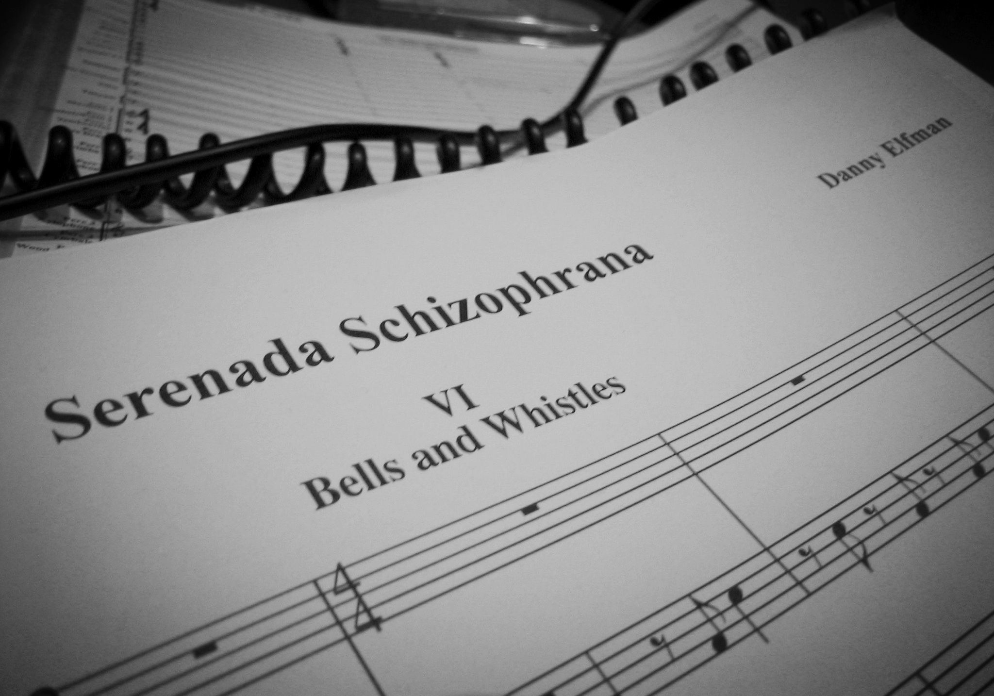 Serenada Schizophrana Score, Recording Session (2006)