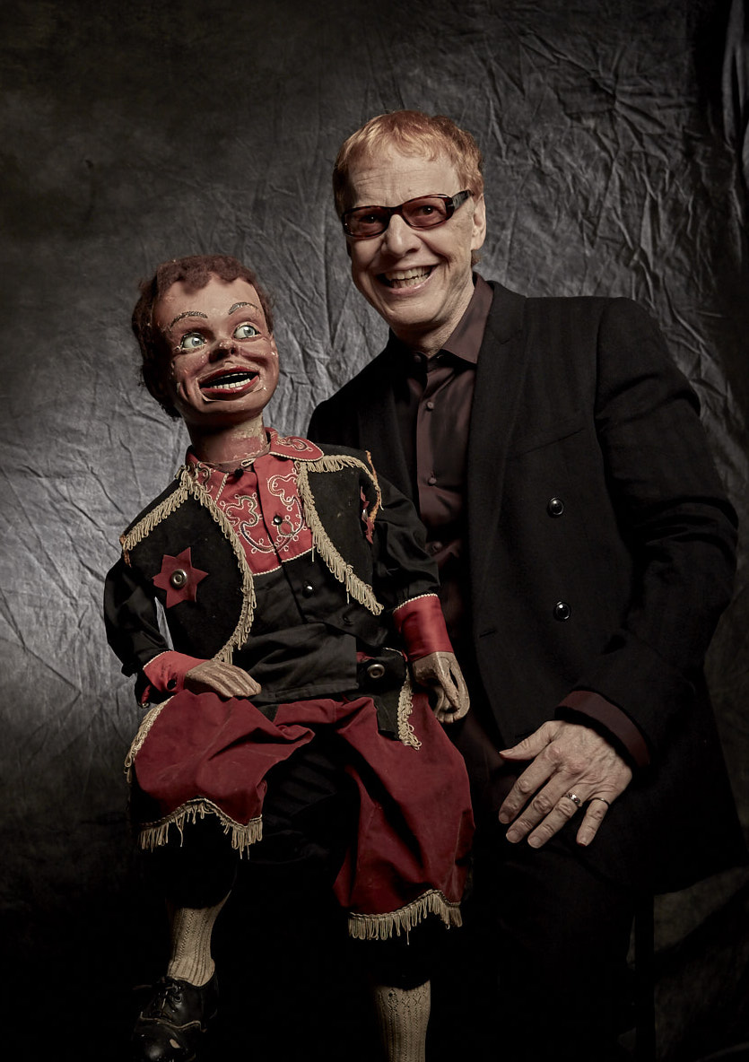 DANNY ELFMAN & Buddy - Photo by: Margaret Malandruccolo