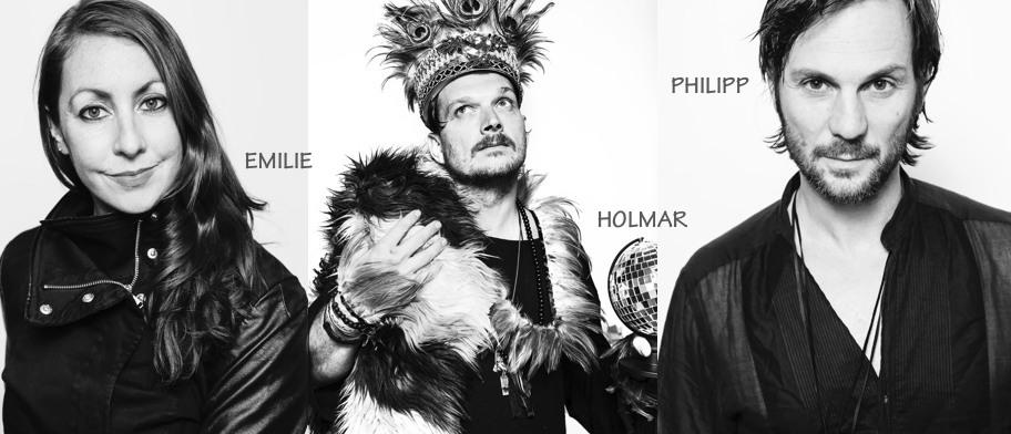 Emilie + Holmar + Phillip