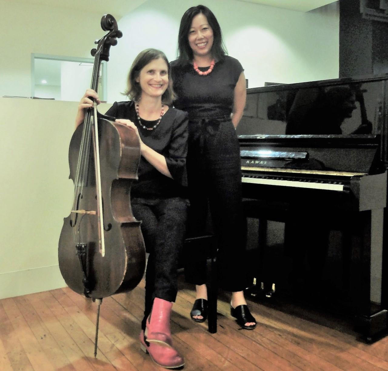 Appasionata cello/ piano duo - New cello/piano duo, performing a range of light classical favourites, tangos, bossa nova and jazz standards. Featuring Adi Sappir on cello.