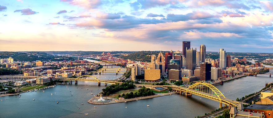 "Pittsburgh ""Steel City"", Pennsylvania, USA"