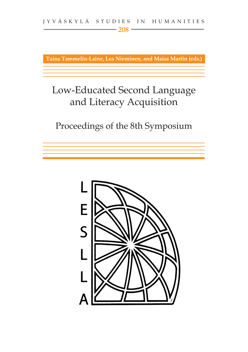 LESLLA Proceedings Cover.png