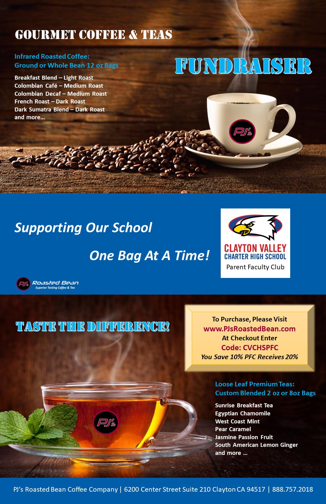 CVCHS Fundraising Poster