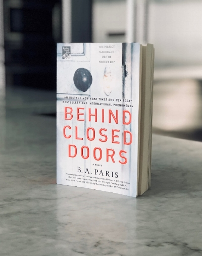 Behind Closed Doors by B.A Paris BOOK REVIEW. Click to Read and Enter to Win a FREE BOOK every month!