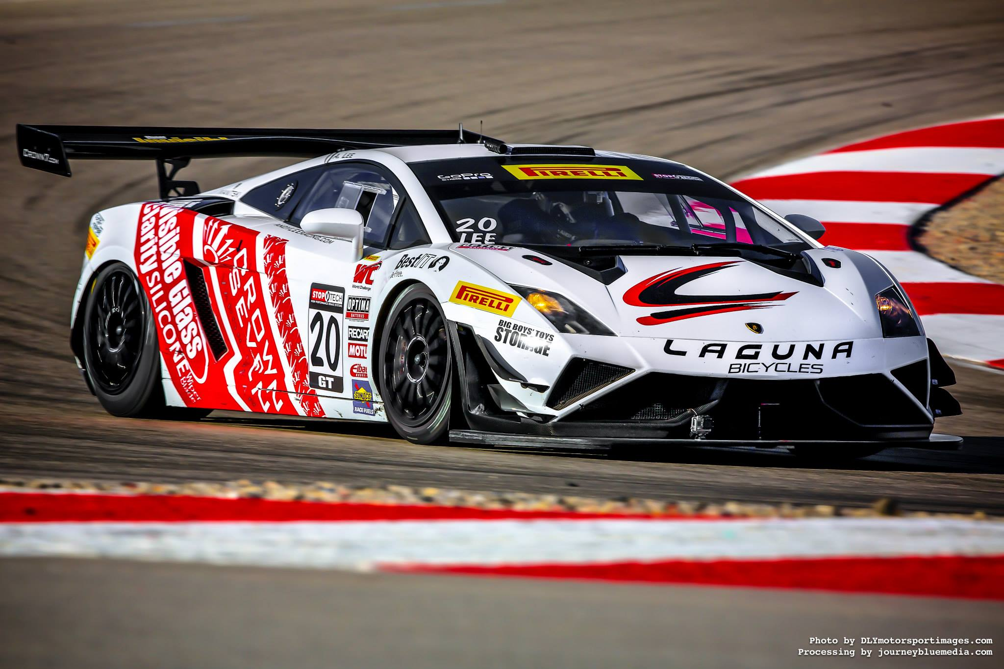 Pirelli World-Challenge GT - Experience testing/racing Cadillac, Porsche, Lamborghini, and Acura GT3 models