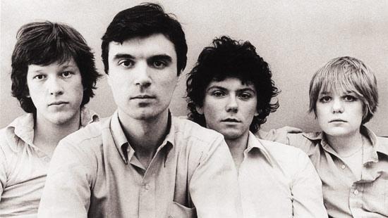 Talking Heads LtoR: Chris Frantz; David Byrne; Jerry Harrison; Tina Weymouth