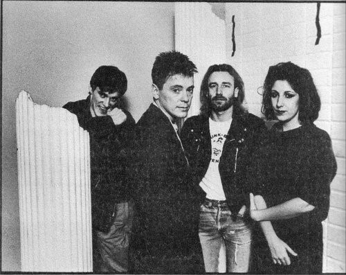 Morris,Sumner, Hook, & Gilbert in the early days of New Order