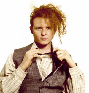 Mick Hucknall of Simply Red