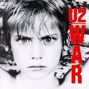 The same boy, Peter Rowan, was used for  War  as on the cover of  Boy . He was the son of a friend of Bono's.