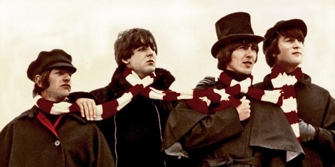 Ringo,. Paul, George, and John in  Help!