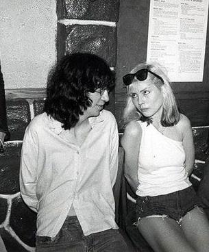 Joey Ramone & Debbie Harry at CBGBs