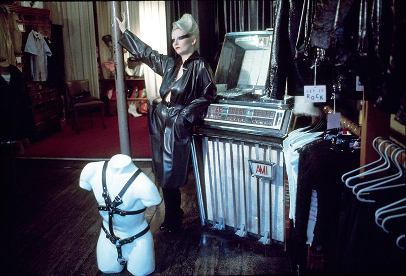 Pamela 'Jordan' Rook in the Let It Rock shop