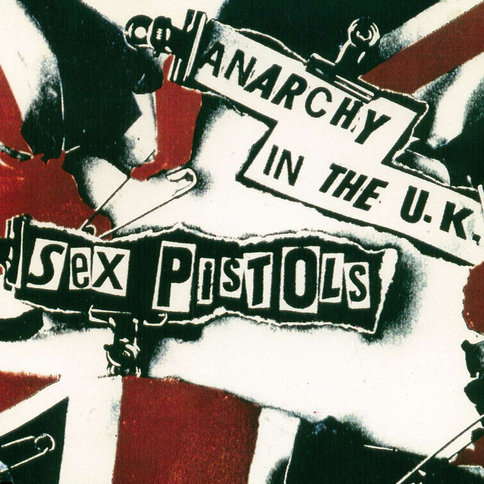 The iconic cover of the Anarchy in the UK single