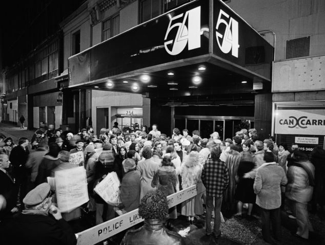 Studio 54 was notorious for being arbitrarily selective about who got let in, creating a nightly frenzy of hopefuls looking for entrance