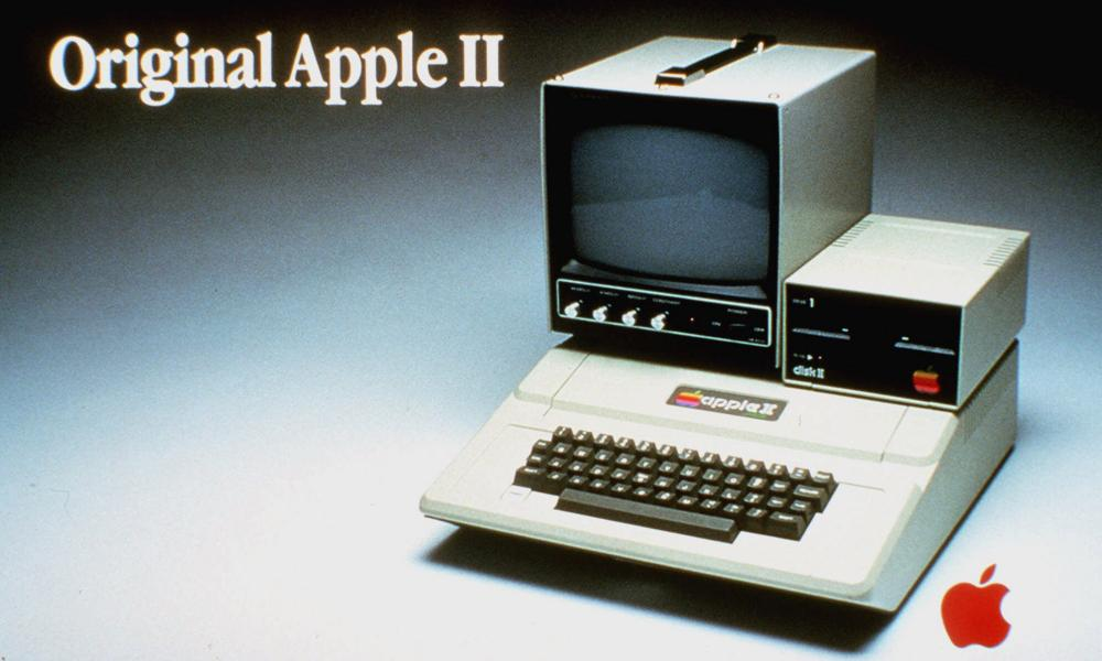 The first of the Apple II series, introduced in 1977