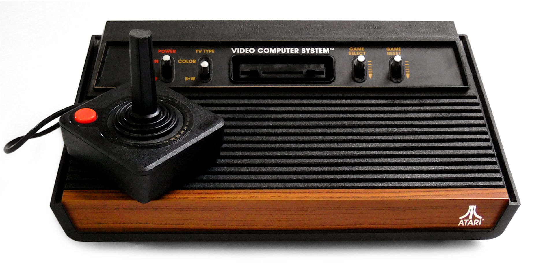 The Atari 2600. I still remember blowing on the game cartridges before jamming them in.