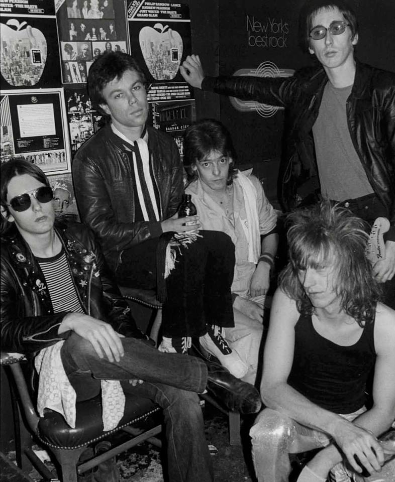 Eddie & The Hot Rods at Max's Kansas City, 1977