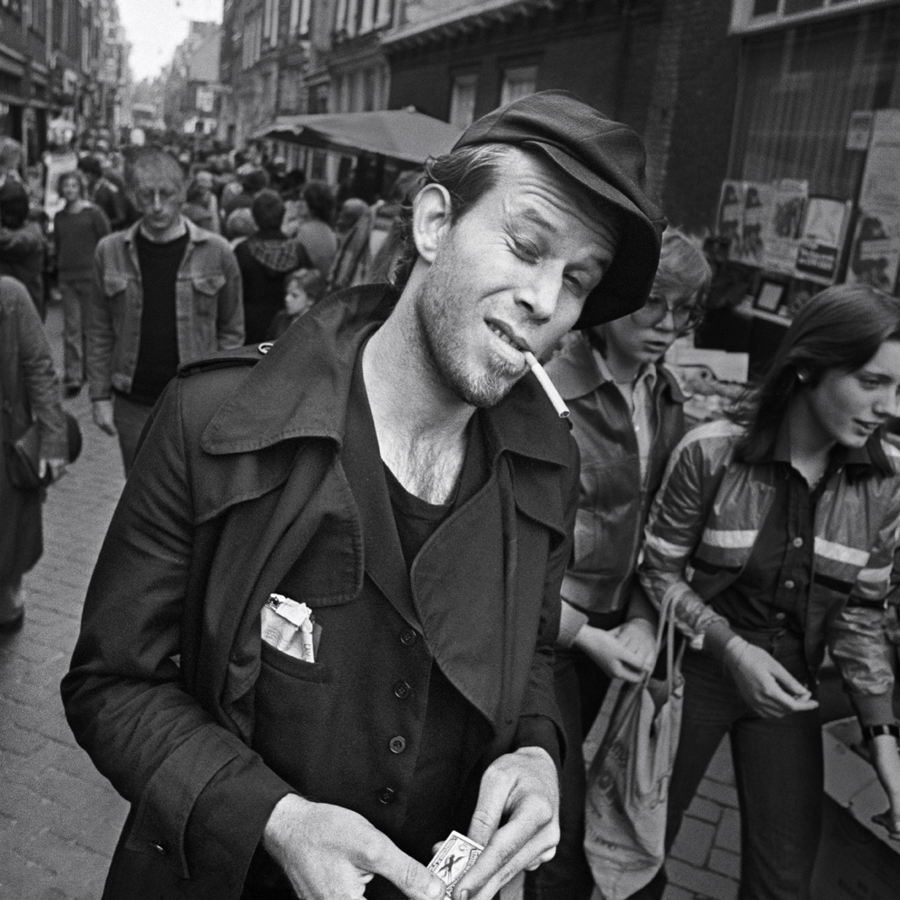 Tom Waits in Amsterdam, 1977