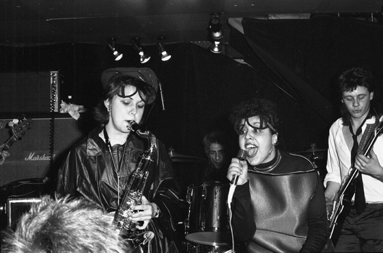 Lora Logic & Poly Styrene of X-Ray Spex