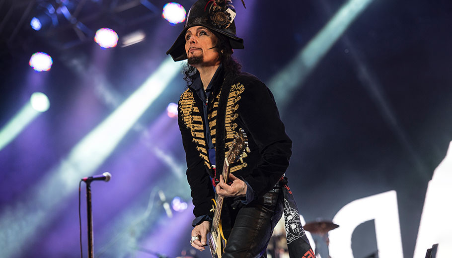 Adam Ant today, still rocking after all these years