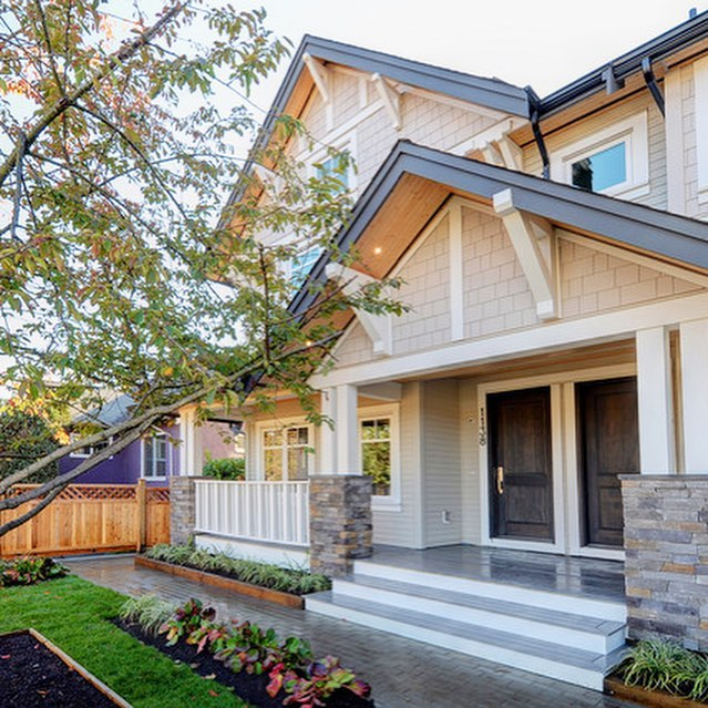 We proudly built this new duplex at 1138 East 16th Ave. in Vancouver, BC. Each unit features 1842 sq. ft., 3 Bedrooms, 2.5 Bathrooms & a large front and back yard. Contact @seanstevensrealtor for more info or to set up a viewing.