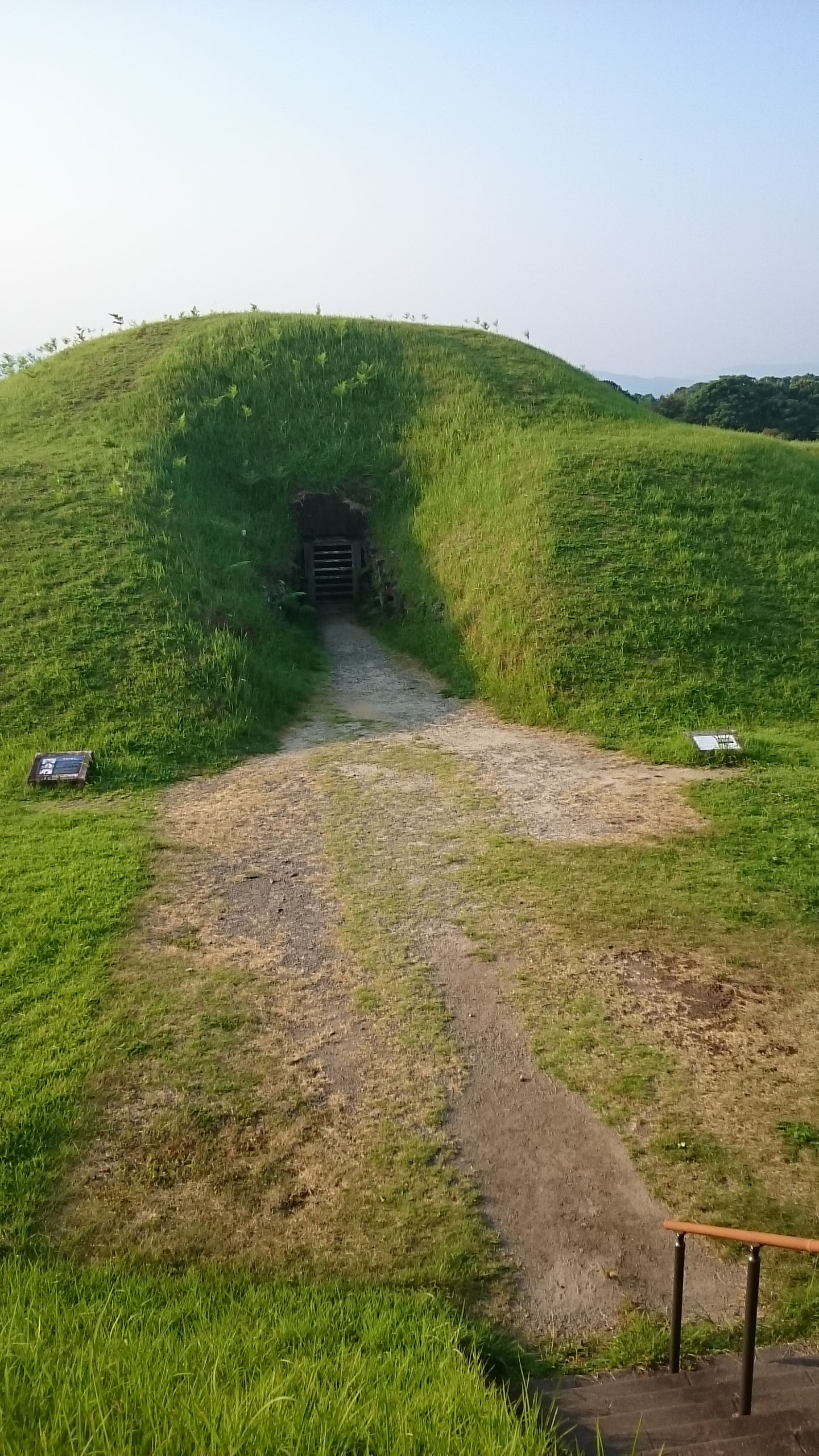 Japanese Neolithic grave.