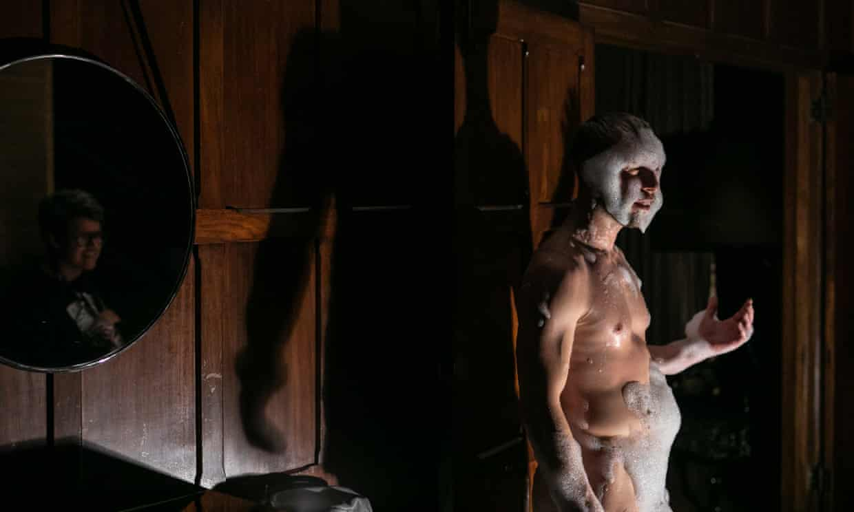 Joel Bray in Biladurang at the QT during the Sydney festival. Photograph: Victor Frankowski