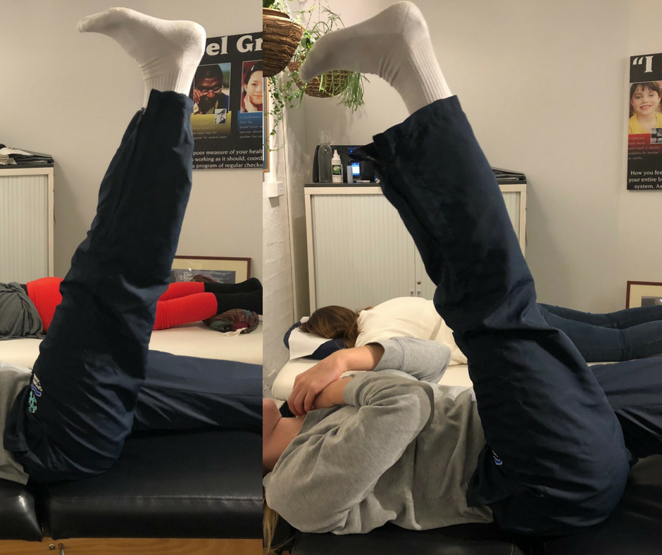 17-year-old national athlete improves flexibility