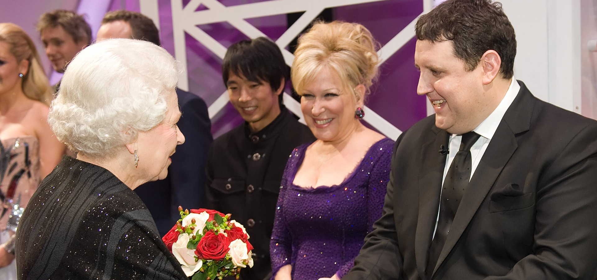 ...and, to date, a total of eight Royal Variety Performances. -