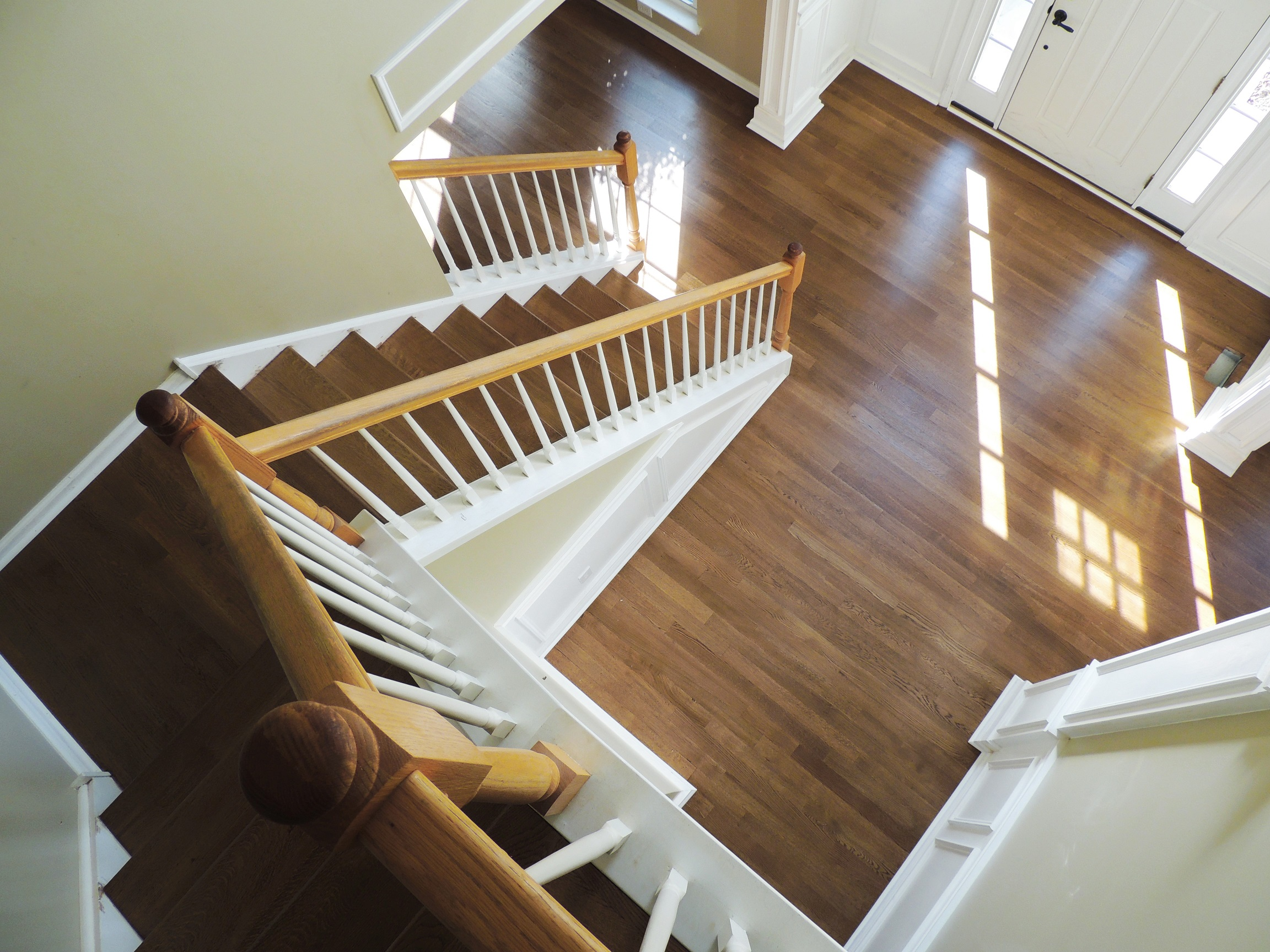 We couldn't be happier with how our floors and stairs turned out! I highly recommend Spire for any flooring work. -