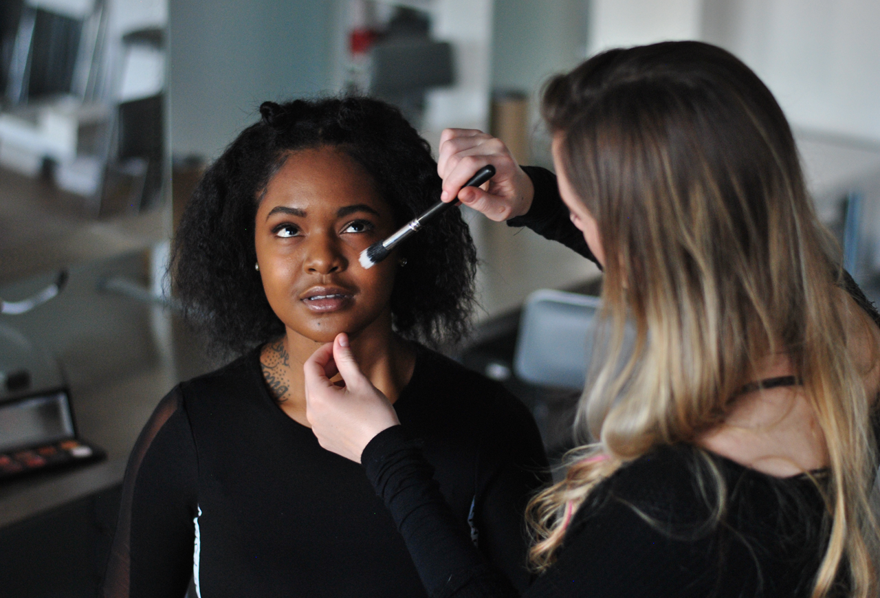 Daily, hands-on practice and feedback. - At Paint, we know that the best way to learn is by doing. In the 36-hour Basic Beauty Makeup course, students will be working on a face from the very first day.