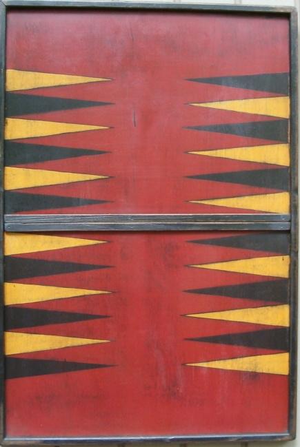 Backgammon in Red