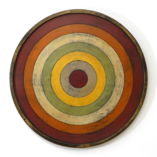 Bulls Eye Game Board - Terracotta