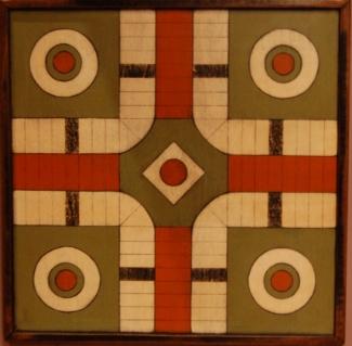 Belle Parcheesi Game Board