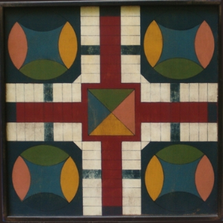 Mother May I Parcheesi Game Board