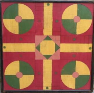 Playground Parcheesi Game Board