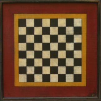 Boys Will Be Boy Checker Board