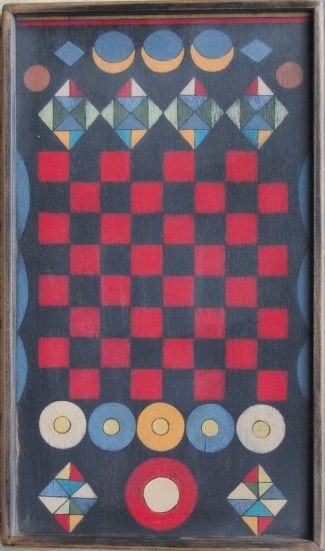 Once Upon A Time Checker Board