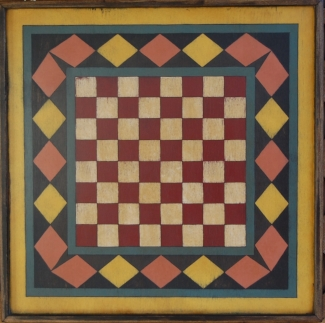 House of Cards Checker Board